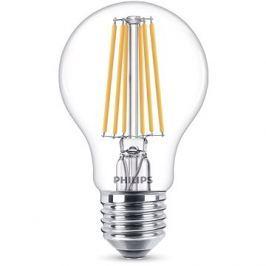 Philips LED Classic Filament 8-75W, E27, čirá, 4000K
