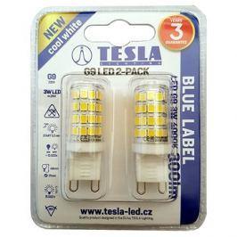 TESLA LED 3W G9 2ks 4000K