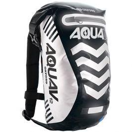 OXFORD vodotěsný batoh Aqua V12 Extreme Visibility, (černá/reflexní prvky) objem 12l