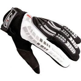 Pilot rukavice, černá/bílá S
